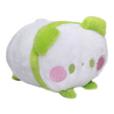 Panda Bear Plushie Japan Super Soft Stuffed Animal Toy Kawaii Cute White Green