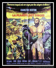 """Planet Of The Apes 24"""" x 32"""" French Moyenne Fold Movie Poster Original 1963"""