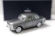 1:18 norev Simca Aronde monthiery speciale 1962 Grey New en Premium-modelcars