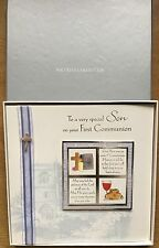 Son First Communion Card*Luxury With 3D Embellishments*Gift Boxed