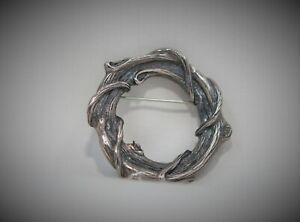"""Mignon Faget Sterling Silver Brooch, 2"""", 25.04g SKU52"""