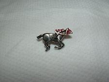 ASSAULT HORSE RACING JOCKEY PIN TRIPLE CROWN 1946 KENYUCKY DERBY