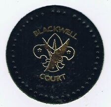Blackwell Court Leather Green Gold FDL British Scout Patch 600805