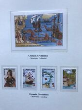 1992 Granada Grenadines, Stamps, Christopher Columbus, MNH