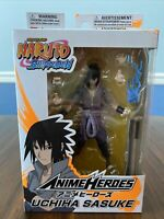 "Bandai Naruto Shippuden Anime Heroes Series 6"" Uchiha Sasuke Action Figure"