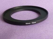 52mm A 72mm Macho-hembra Stepping intensificar filtro anillo adaptador Reino Unido