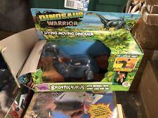 Vintage 1987 Hg Toys Dinosaur Warriors Brontosaurus Dino Ice Age -New In Box!
