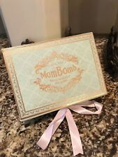 Brand New In Box MomBomb Luxury Bathbombs Classic Box Smells Incredible Gift!