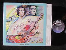 STEVE HACKETT Highly Strung US ORIGINAL LP/INNER art/prog rock/Genesis/PROMO