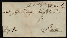 $German Stampless Cover, Hagen-Stade (8.8.1820) seal