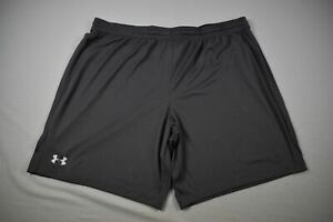 Under Armour Shorts Men's Gray Poly NEW 3XL