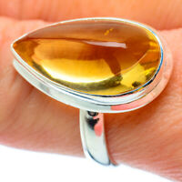 Citrine 925 Sterling Silver Ring Size 9 Ana Co Jewelry R34577F