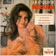 45 T  EP JACQUES HELIAN *AH ! SI J'ETAIS RESTE CELIBATAIRE*