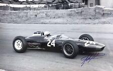 John Surtees Hand Signed Formula 1 18x12 Photo F1.