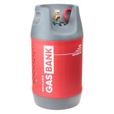 GasBank Large 11kg LPG Refillable Gas Cylinder - DIN (G12 KLF) Inlet/Outlet