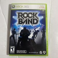 Xbox 360 Rock Band - Game with manual and case Rockband Complete Free Ship