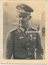 Foto Regimentskommandeur  Inf.Rgt.40-Augsburg mit Bay.Ordensspange   (698)