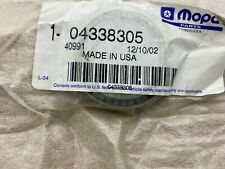 OEM Mopar Wheel Bearing Front 4338305