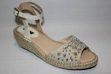 NEW Alex Marie Sandra 2 Wedge Espadrilles Sandals Size 8 Item #04626698