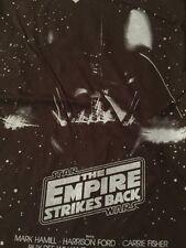 Star Wars Empire Strikes Back Men's Black 100% Cotton T-Shirt Size Medium New!