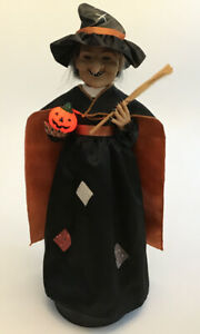 Telco The Original Motion-ettes of Halloween Witch Lighted Ghostly Sounds B77