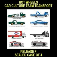HOT WHEELS 2019 CAR CULTURE RELEASE F  4CAR/TRUCK CASE