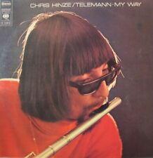 CHRIS HINZE - TELEMANN, MY WAY  -  LP