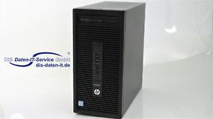 HP ProDesk 600 G2 MT, i5-6600 @ 3,30GHz, 8GB DDR4, Win 10 PRO, DVI, DVD, Zubehör