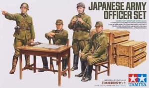 Tamiya 1:35 Japanese Army Officer Figure Plastic Model Set 35341