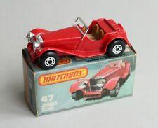 Matchbox Lesney Superfast MB 47 Jaguar SS 100