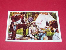 N°116 COMANCHEROS CONQUETE DE L'OUEST WILLIAMS 1972 PANINI FAR WEST WESTERN