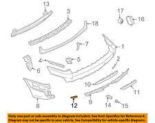 BMW OEM 07-10 X3-Bumper Trim-Reflector Right 63147162218