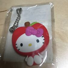 Hello Kitty Mini Red Apple Fruit Mirror Mascot Key Accessory - Cute