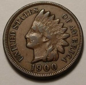 1900 Indian Head Cent 2363