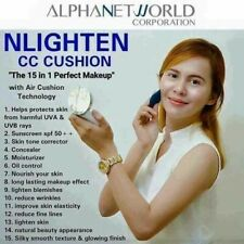 Nworld Nlighten CC Cushion 15 In 1 Perfect Make Up Helps Protect Skin From Sun