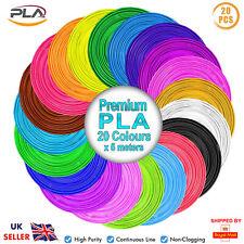 ACENIX 3D Pen Filament Refills PLA 1.75mm 20 Colors 5M Each pla filament Set