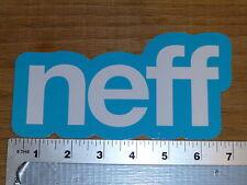 Neff Snowboarding Blue/WhiteSticker Decal