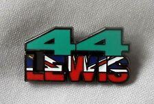 * Nuovo * Lewis Hamilton 44 SMALTO BADGE. Hammertime, F1, della Formula Uno, Silverstone.