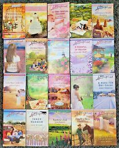 HARLEQUIN LOVE INSPIRED ROMANCE HUGE 20 PAPERBACK BOOK LOT