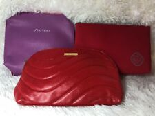 3 Pcs ~ Shiseido Travel Cosmetic Makeup Bag ~ Brand New !!