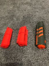 Lot Of 3 Nerf Firefly Vortex 10 Round Disc Mag And Regular 10 Round Disc Mag.