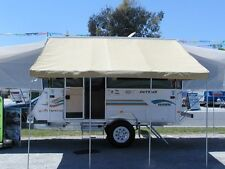 10' White  Jayco Bag Awning For A 10' Pop Up Camper Awning