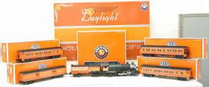 Lionel 6-21797 SP Daylight O Gauge Steam Passenger Train Set LN/Box