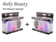 6 Pcs/2 Pack Beauty Makeup Foundation Sponge Blender Flawless Powder Puff
