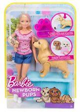 Mattel Barbie FDD43 - Hundemama, Welpen und Puppe