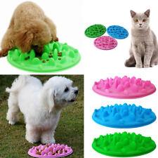 Silicona Para Mascota Perro Gato Plegable anti choque alimentación Puzzle Tazón