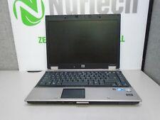 "HP EliteBook 6930p 14"" C2D 2.26GHz 4GB/250GB DVDRW Webcam Laptop NO BATTERY AC"