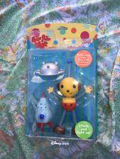 "Disney Nelvana 10"" Talking Lights Rolie Polie Olie Robot Toy Figure Sealed Rare"