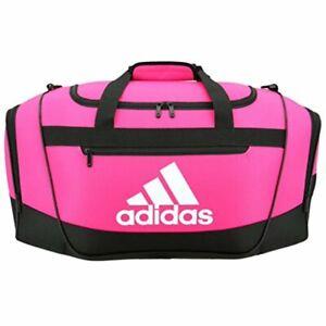 Adidas Defender III Small Duffel Bag In Pink B3822