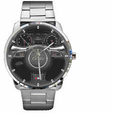New Special Gift Sale!! Audi A6 Avant S line Steering Wheel on Sport Metal Watch